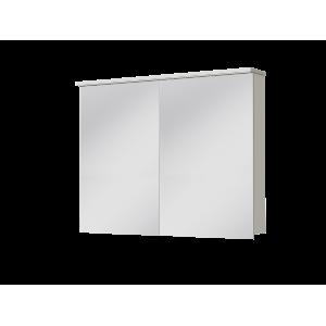Дзеркальна шафа Monza MnMC-100 біла