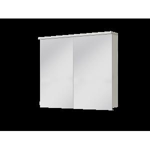 Дзеркальна шафа Monza MnMC-90 біла