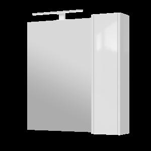 Дзеркальна шафа Bronx BrxMC-80 біла