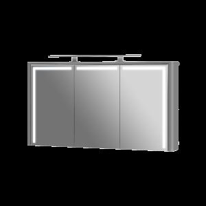 Дзеркальна шафа Levanto LvM-128 сіра
