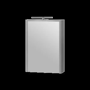 Дзеркальна шафа Livorno LvrMC-50 структурний сірий