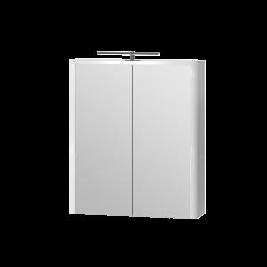 Дзеркальна шафа Livorno LvrMC-60 біла