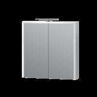 Дзеркальна шафа Livorno LvrMC-70 структурний білий