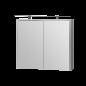 Дзеркальна шафа Livorno LvrMC-80 структурний сірий