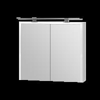 Дзеркальна шафа Livorno LvrMC-80 біла