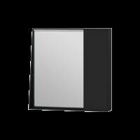 Дзеркальна шафа Manhattan MnhMC-70 чорна