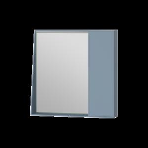 Дзеркальна шафа Manhattan MnhMC-70 блакитна