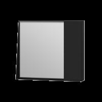 Дзеркальна шафа Manhattan MnhMC-80 чорна