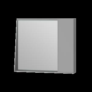 Дзеркальна шафа Manhattan MnhMC-80 сіра