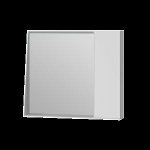 Дзеркальна шафа Manhattan MnhMC-80 біла