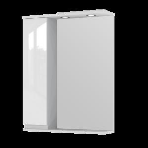 Дзеркальна шафа Monika MMC2-65 ліва біла
