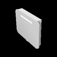 Дзеркальна шафа Prato PrM-80 біла