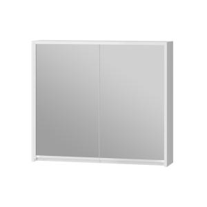Дзеркальна шафа Savona SvM-80 біла