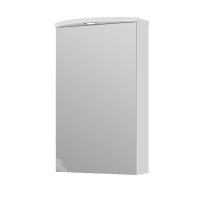 Дзеркальна шафа Slavuta SlMC1-45 біла