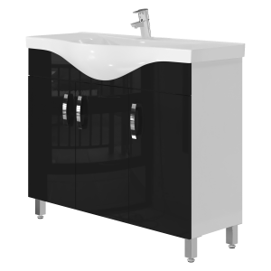 Тумба Trento Trn-100 чорна