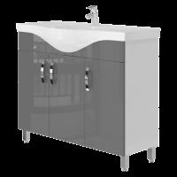 Тумба Trento Trn-100 сіра