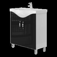 Тумба Trento Trn-75 чорна