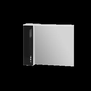Дзеркальна шафа Trento TrnMC-100 ліва чорна