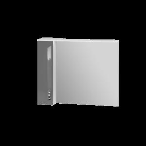Дзеркальна шафа Trento TrnMC-100 ліва сіра