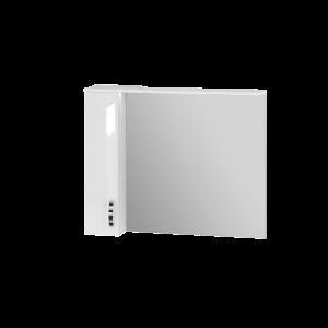 Дзеркальна шафа Trento TrnMC-100 ліва біла