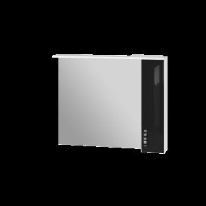 Дзеркальна шафа Trento TrnMC-100 права чорна