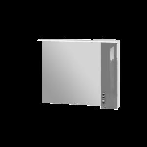 Дзеркальна шафа Trento TrnMC-100 права сіра