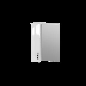 Дзеркальна шафа Trento TrnMC-60 ліва біла