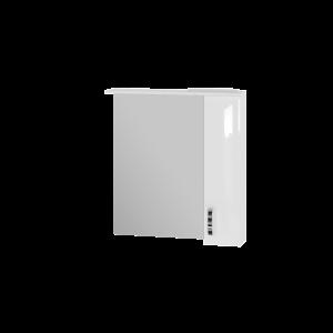 Дзеркальна шафа Trento TrnMC-75 права біла