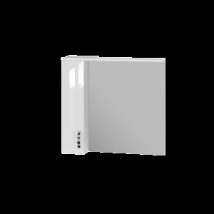 Дзеркальна шафа Trento TrnMC-87 ліва біла