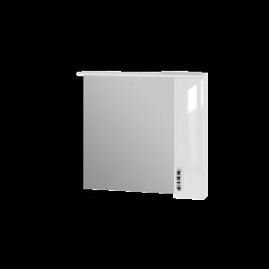 Дзеркальна шафа Trento TrnMC-87 права біла