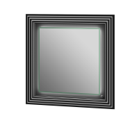 Дзеркало Treviso TM-80 чорне