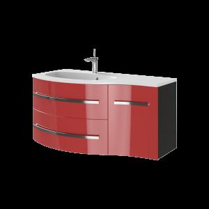 Тумба Vanessa Vndl-110 червона