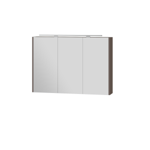 Дзеркальна шафа Vanessa VnM-100 темна диня