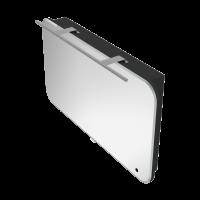 Дзеркальна шафа Velluto VltMC-100 чорна