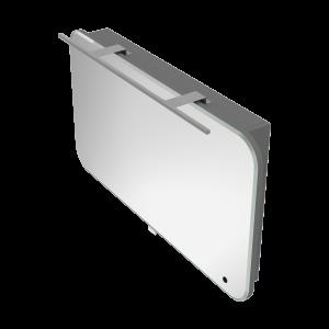 Дзеркальна шафа Velluto VltMC-100 сіра