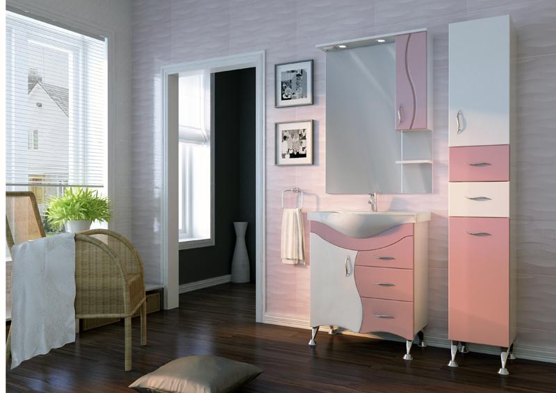 Серия мебели BRIZ JUVENTA розовая