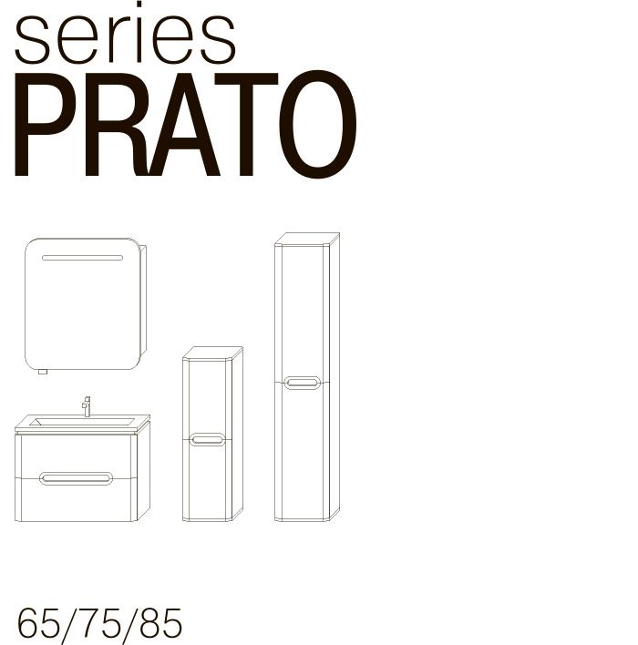 Серия мебели PRATO JUVENTA чертеж