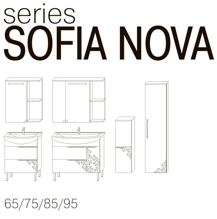 Серия мебели SOFIA NOVA JUVENTA чертеж
